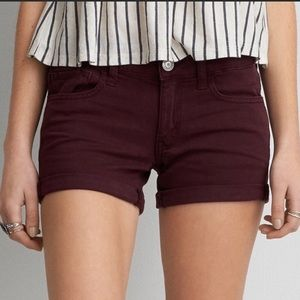 American Eagle Outfitters Shorts - AEO Twill X Midi Super Stretch Shorts